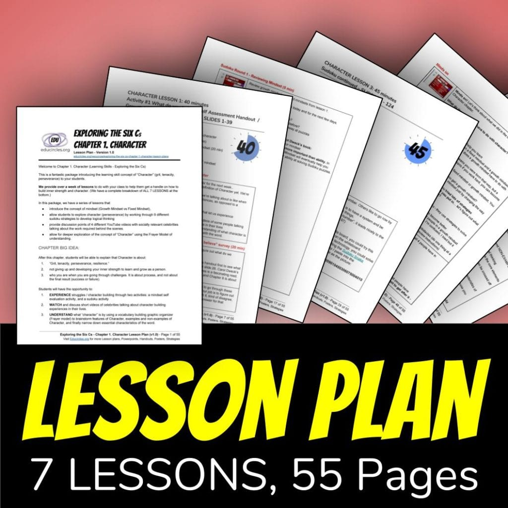 Lesson Plan: 7 Lessons, 55 Pages