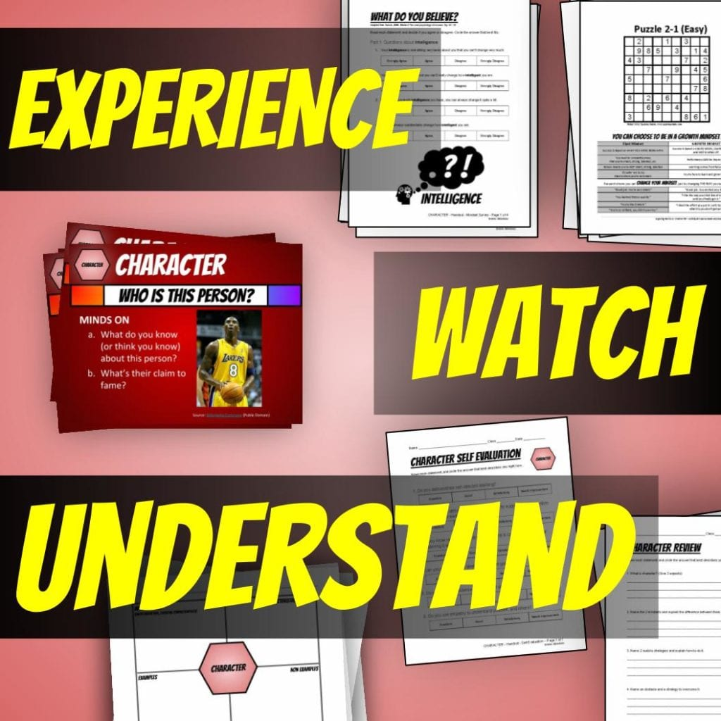 Experience, Watch, Understand