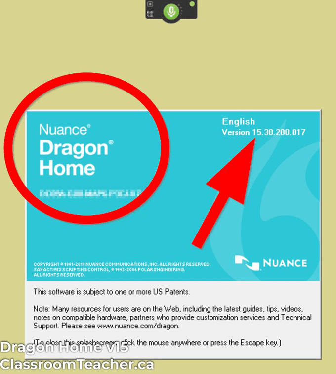Screenshot of Dragon Home v15 product info for Dragon Home vs Profession 15 review