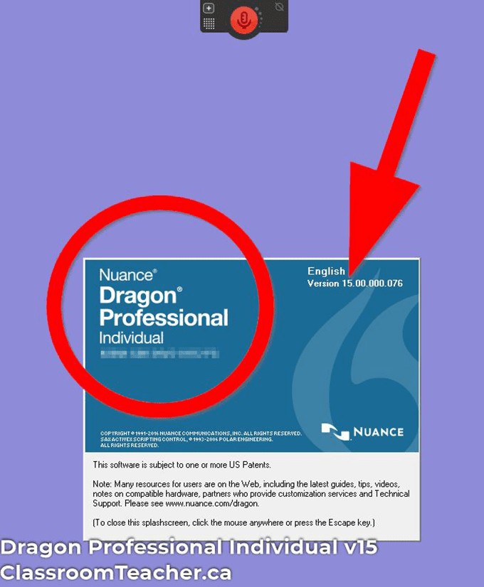 Screenshot of Dragon Professional Individual v15 product info for Dragon Home vs Profession 15 review